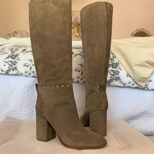 Tory Burch Suede Tall Boots